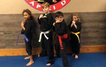 Kids Karate Groups